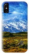 Stary Night Over Highlands IPhone Case