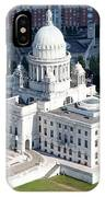 State Capitol Buildng Providence Rhode Island IPhone Case