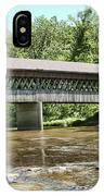 State Road Covered Bridge IPhone Case