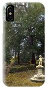 Statue And Tree IPhone Case