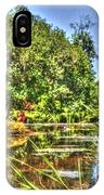 Statue In Brookgreen Gardens IPhone Case
