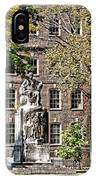 Statue In Germantown IPhone Case