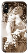 Statue In St Petersburg IPhone Case