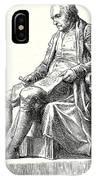 Statue Of James Watt In Westminster IPhone Case