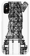 Statue Of Liberty, 1886 IPhone Case