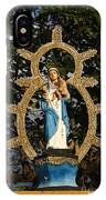 statue of the Virgin Mary in Granada Nicaragua IPhone Case