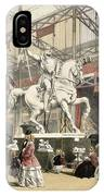 Statues In The Belgium Section IPhone Case