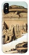 Statues Of Rameses IPhone Case
