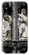 Statues Of The Aachen Cathedral Germany IPhone Case