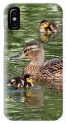 Staying Close To Mom IPhone Case