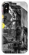 Steam Engine 844 IPhone Case