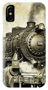 Steam Locomotive No. 334 IPhone Case