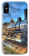 Steam Locomotive No 6 Norfolk And Western Class G-1 IPhone Case