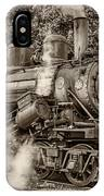 Steam Power Sepia IPhone Case