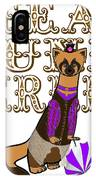 Steam Punk  Ferret 2 IPhone Case