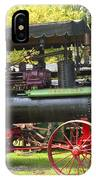 Steam Tractor Line-up IPhone Case