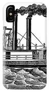 Steamboat, 19th Century IPhone Case