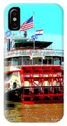 Steamer Natchez Paddleboat IPhone Case