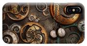Steampunk - Abstract - Time Is Complicated IPhone Case