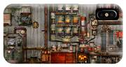 Steampunk - Coffee - The Company Coffee Maker IPhone Case