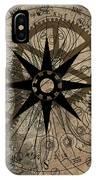 Steampunk Gold Gears II  IPhone Case