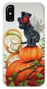 Steampunk Kitten IPhone Case