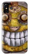 Steampunk - The Joy Of Technology IPhone Case