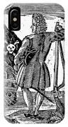 Stede Bonnet (c1688-1718) IPhone Case