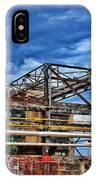 Steel And Turmoil  IPhone Case