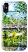 Steel Span Bridge Gettysburg IPhone Case