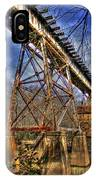 Steel Strong Rr Bridge Over The Yellow River IPhone Case