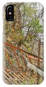 Steep Steps To Beach - Finger Lakes IPhone Case