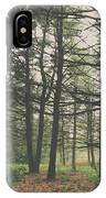Step Into The Forest IPhone Case