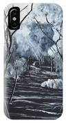 Step Into The Woods IPhone Case