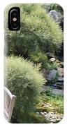 Stepping Stones And Water Fall IPhone Case