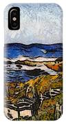 Steps To The Sea Abstract IPhone Case