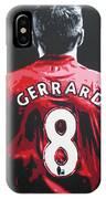 Steven Gerrard - Liverpool Fc 3 IPhone Case