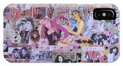 Stevie Nicks Art Collage IPhone X Case