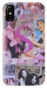 Stevie Nicks Art Collage IPhone Case