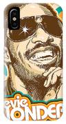Stevie Wonder Pop Art IPhone Case