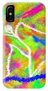 Stickman  Surfing  The  Colors IPhone Case