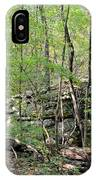Sticks And Stones Along The Way IPhone Case