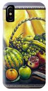 Still Life With Basket IPhone Case
