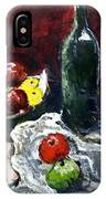 Still Life With Fruits And Wine IPhone Case