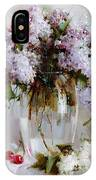 Still Life With Lilac IPhone Case
