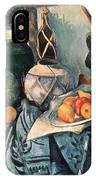 Still Life With Pitcher And Aubergines Oil On Canvas IPhone Case