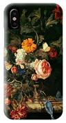 Still Life With Poppies And Roses IPhone Case