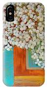Still Life With White Flowers IPhone Case