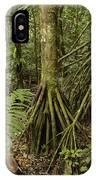 Stilt Roots In The Rainforest Ecuador IPhone Case