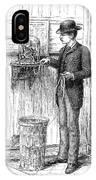 Stock Ticker, 1885 IPhone Case